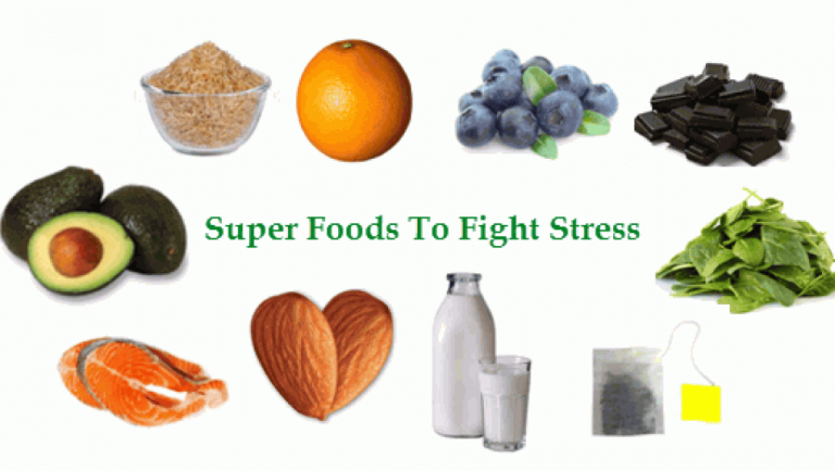 where is stress relief foods