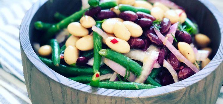 Tastes of Summer 3 Bean salad image