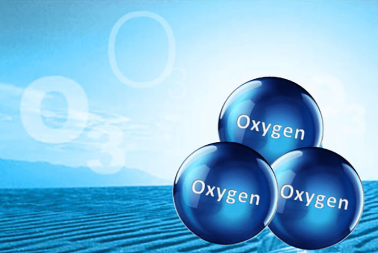 ozone steam particles
