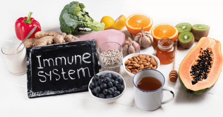 key nutrients that help immunity
